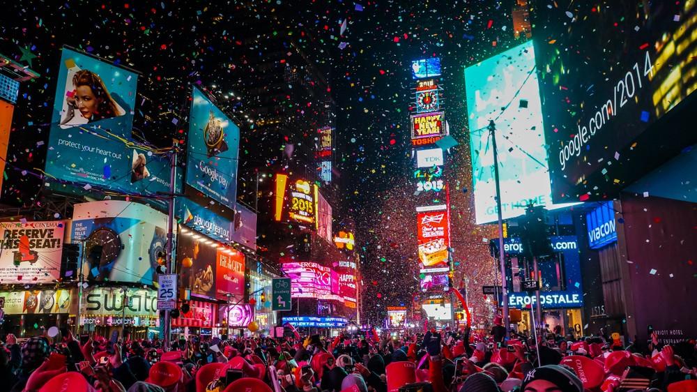 İngilizce konuşulan ülkelerde Yılbaşı Gecesi Cambly New York City